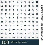 webdesign icons vector set | Shutterstock .eps vector #252853255