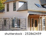 house remodeling with new... | Shutterstock . vector #252862459