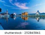 golden temple  harmandir sahib...   Shutterstock . vector #252865861