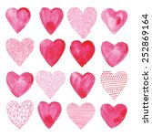 The Pattern Of Hearts Painted...