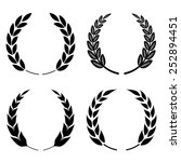 laurel wreath icon | Shutterstock .eps vector #252894451