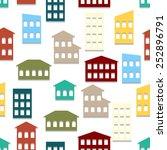 seamless vector illustration... | Shutterstock .eps vector #252896791