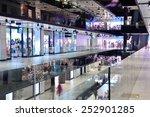 Modern Bright Shopping Mall...