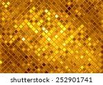 luxury golden mosaic  gold... | Shutterstock . vector #252901741