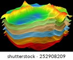 abstract terrain  geology  ut...