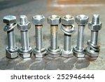steel fastener  bolts   nuts | Shutterstock . vector #252946444