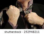 stressed businessman   Shutterstock . vector #252948211