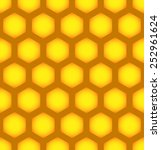 honeycomb repeatable pattern ... | Shutterstock .eps vector #252961624