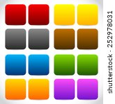 colorful squares set | Shutterstock .eps vector #252978031