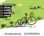 sports statistics infographics... | Shutterstock .eps vector #252990094