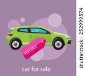 car sale design template with... | Shutterstock .eps vector #252999574
