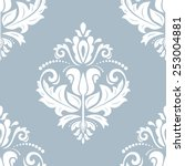Damask Seamless Pattern. Fine...