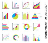 infographics elements in modern ... | Shutterstock .eps vector #253013857