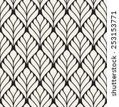 seamless pattern. classical... | Shutterstock .eps vector #253153771