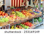 Fruit Stall In The Italian Cit...
