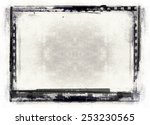 highly detailed grunge frame ... | Shutterstock . vector #253230565