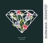 Decorative Diamond Shape With...
