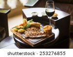 traditional english food sunday ... | Shutterstock . vector #253276855