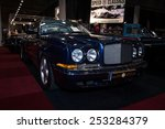 Постер, плакат: The high performance car Bentley