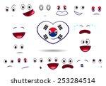 south korea | Shutterstock .eps vector #253284514