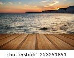 beautiful landscape image of...   Shutterstock . vector #253291891