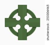 celtic cross   Shutterstock .eps vector #253306465