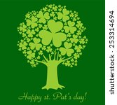 Art Tree For St. Patrick\'s Day...