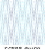 wave line seamless background | Shutterstock .eps vector #253331401