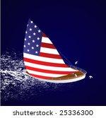 american sailboat | Shutterstock .eps vector #25336300