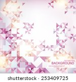 abstract geometric shapes | Shutterstock .eps vector #253409725