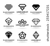 diamonds  14  | Shutterstock .eps vector #253417231