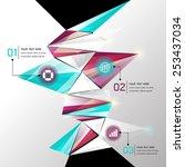 modern abstract background...   Shutterstock .eps vector #253437034