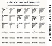 set of celtic corners and...