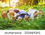 healthy family | Shutterstock . vector #253469341
