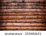 Background of old log bong