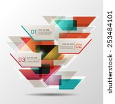 creative abstract background... | Shutterstock .eps vector #253484101