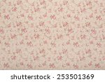 Tapestry Textile Pattern With...