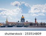 view of isaakievskiy cathedral | Shutterstock . vector #253514809