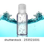 cosmetic liquid in vial on... | Shutterstock . vector #253521031