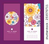 vector colorful oriental... | Shutterstock .eps vector #253570711