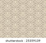 abstract vector seamless damask ... | Shutterstock .eps vector #25359139