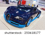 chicago   february 13  a bugati ... | Shutterstock . vector #253618177