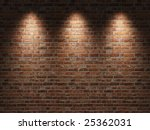 Fragment Of The Shined  Brick...