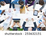 Small photo of Diverse Business People on a Meeting