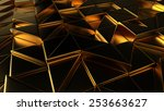 abstract geometric background... | Shutterstock . vector #253663627