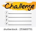 challenge blank list  vector...