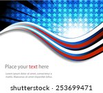 abstract image of the american... | Shutterstock .eps vector #253699471