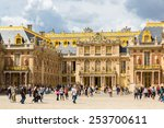versailles  france   august 7 ... | Shutterstock . vector #253700611
