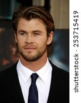 "Small photo of HOLLYWOOD, CALIFORNIA - Monday May 2, 2011. Chris Hemsworth at the Los Angeles premiere of ""Thor"" held at the El Capitan Theater in Los Angeles."