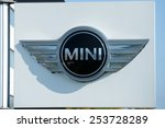 Постер, плакат: MINI dealership logo on